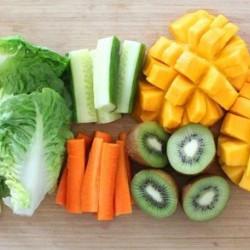 Cesta Pré preparados Mix Hortaliças e Frutas - 10 Variações de Itens
