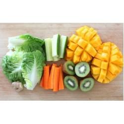 Cesta Pré preparados Mix Hortaliças e Frutas Orgânicas - 14 Variações de Itens