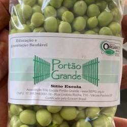 Ervilha grão debulhada orgânica pacote