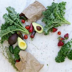 Cesta Mix Hortaliça e Frutas - 10 Variações de Itens