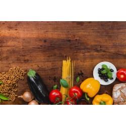 Cesta Mix de Hortaliças e Mercearia - 14 Variações de Itens