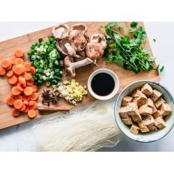 Cesta Pré-preparados Mix de Hortaliças e Temperos Orgânicos - 14 Variações de Itens