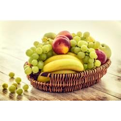 Cesta de Frutas - 5 Variações de Itens
